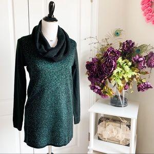 NWT Apt. 9 Knight Green Tunic Sweater